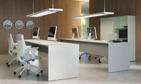Bureaux partagés mobilier planification et agencement modernes de