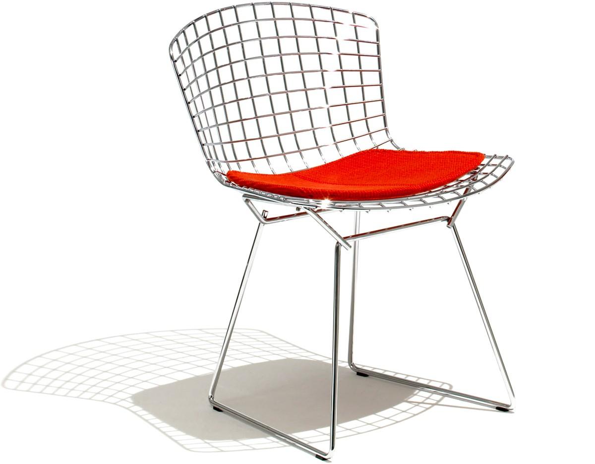 Chaises En Fil Dacier Du Designer Harry Bertoia En Vente à Namur