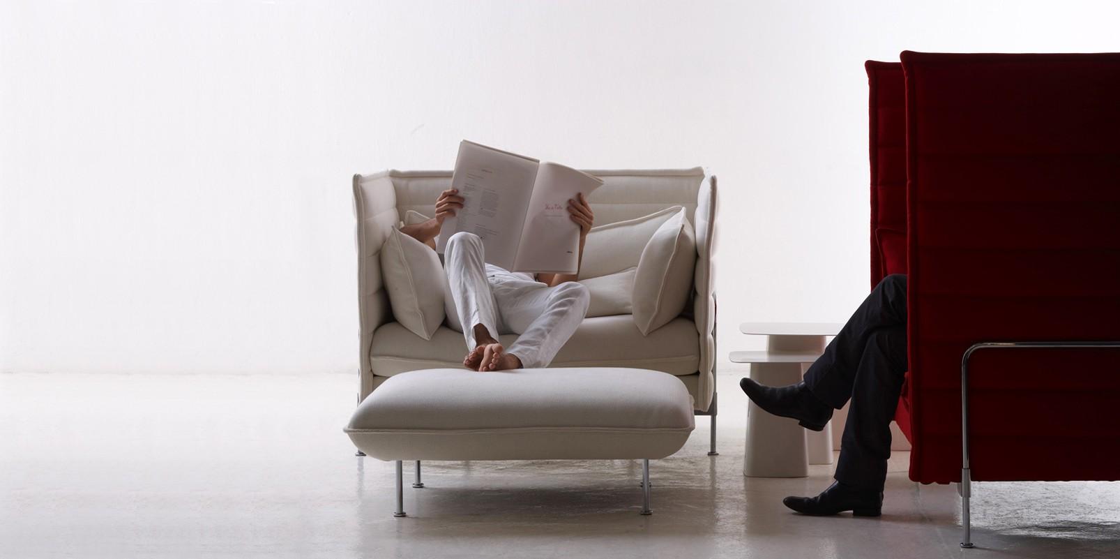 vitra alcove sofa. Black Bedroom Furniture Sets. Home Design Ideas