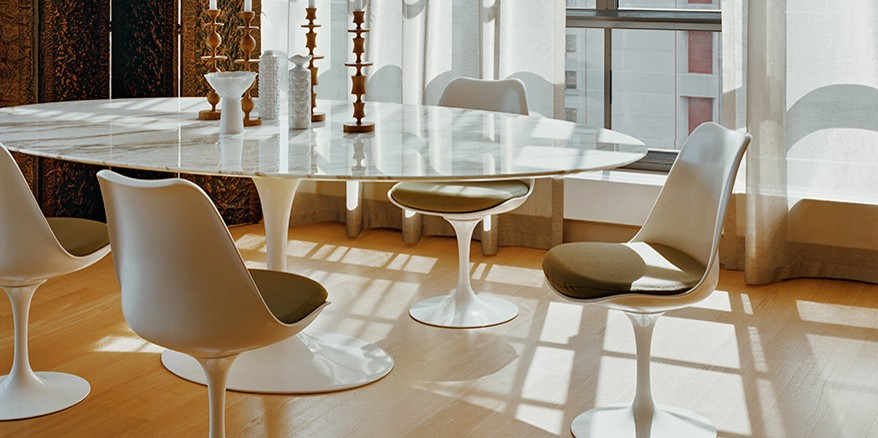knoll saarinen. Black Bedroom Furniture Sets. Home Design Ideas